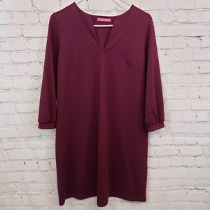 Maternal America Maroon Dress